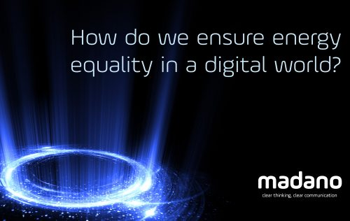 How do we ensure energy equality in a digital world? Three key takeaways