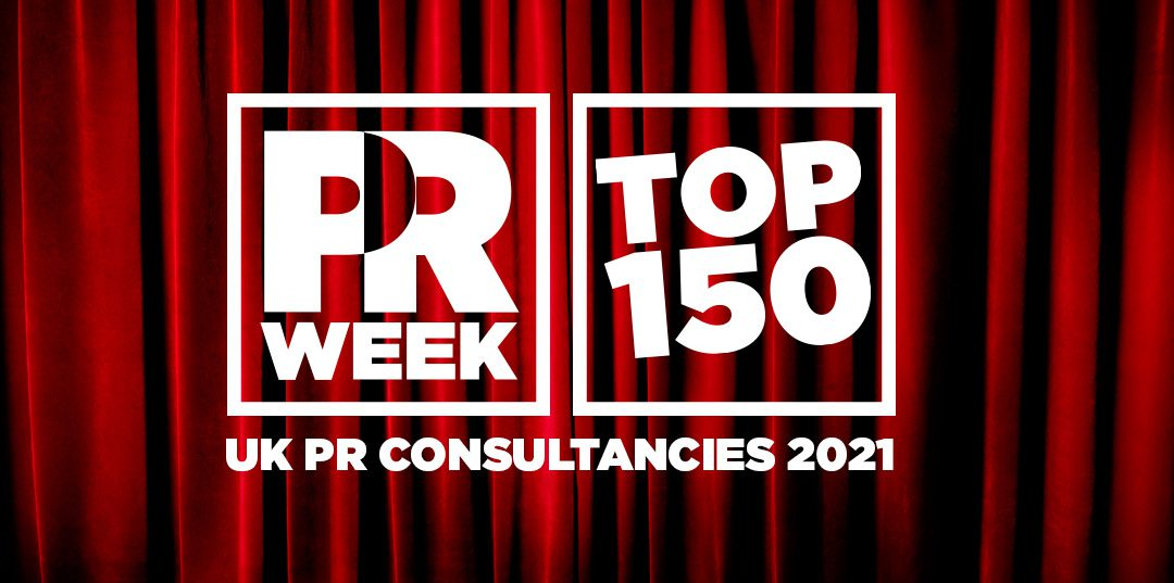 Madano climbs eight places in PRWeek's Top 150 UK PR Consultancies